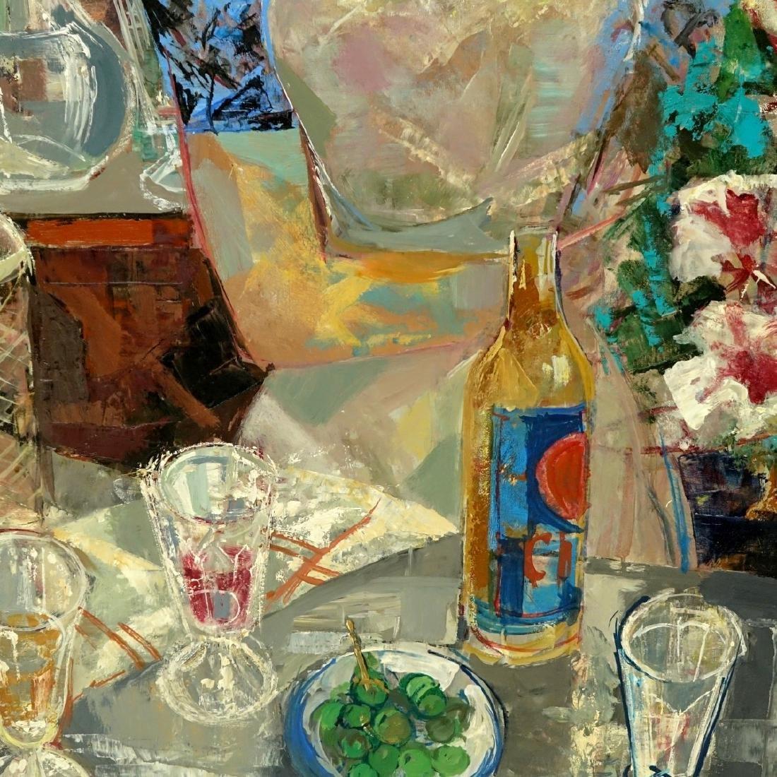 Emilio Grau-Sala, Spanish  (1911 - 1975) Oil - 5