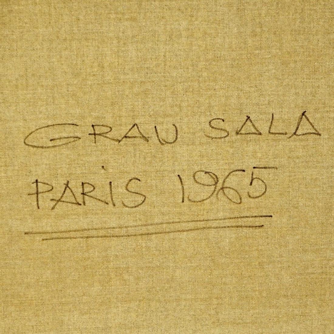 Emilio Grau-Sala, Spanish  (1911 - 1975) Oil - 7