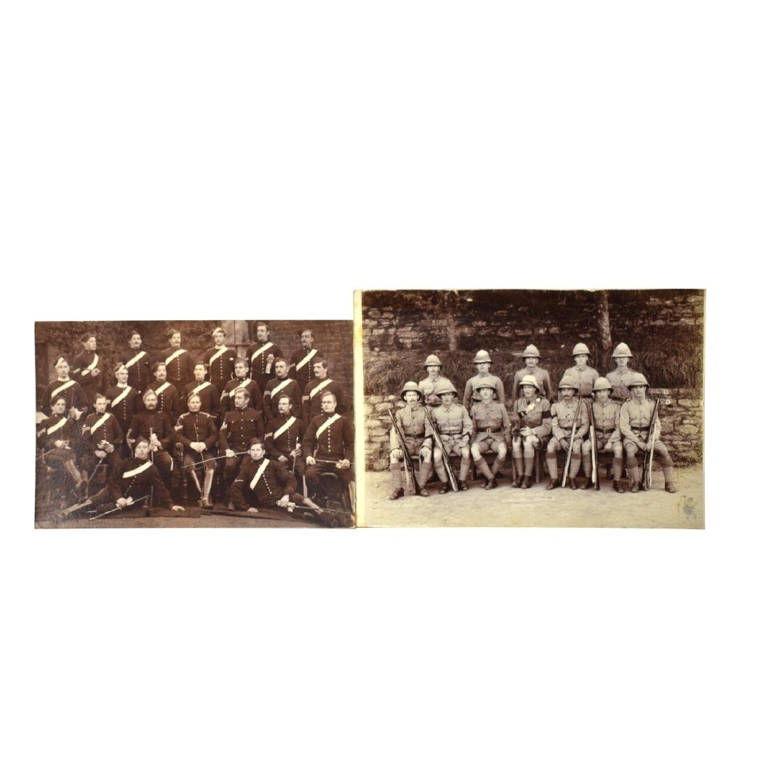 Grouping Of Nine (9) Old Military Photographs - 2
