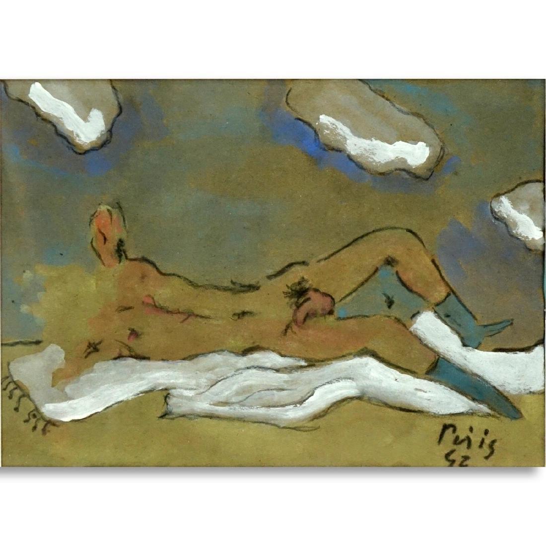 Filippo de Pisis, Italian (1896–1956) Watercolor
