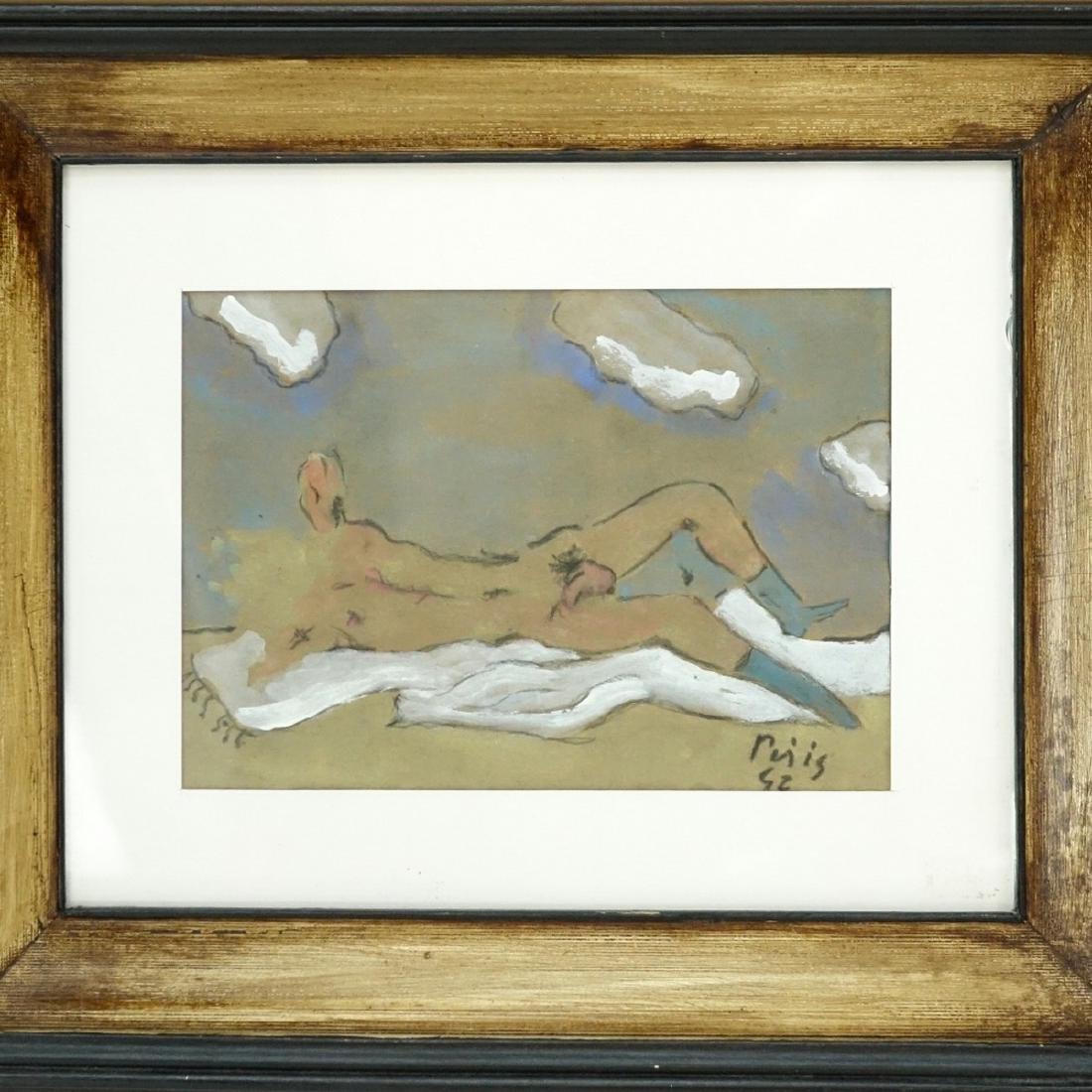 Filippo de Pisis, Italian (1896–1956) Watercolor - 2