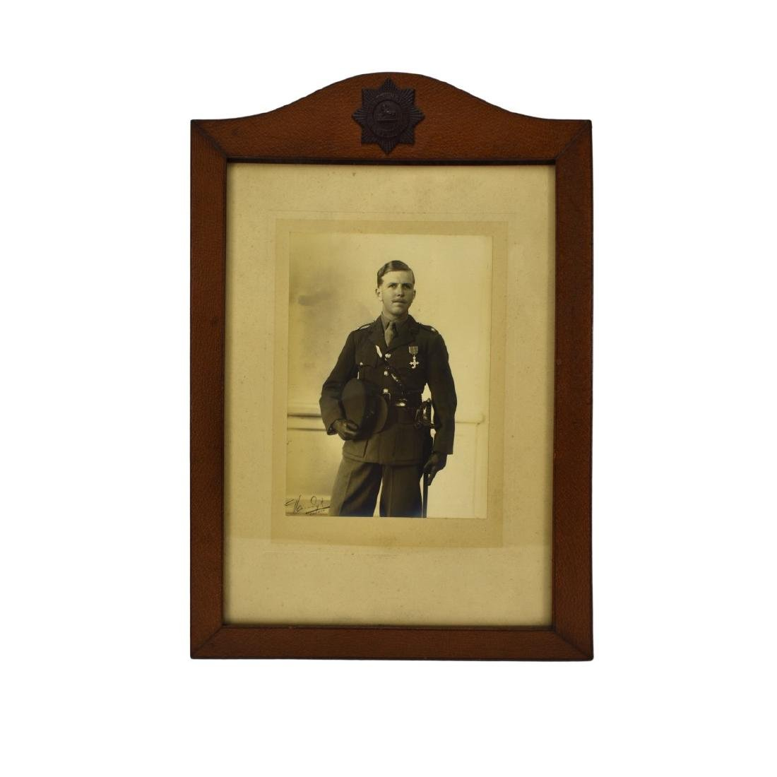 Collection Of Seven (7) Framed Old Military Photos - 2