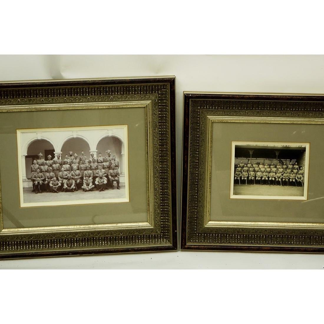 Collection Of Five (5) Framed Old Military - 2