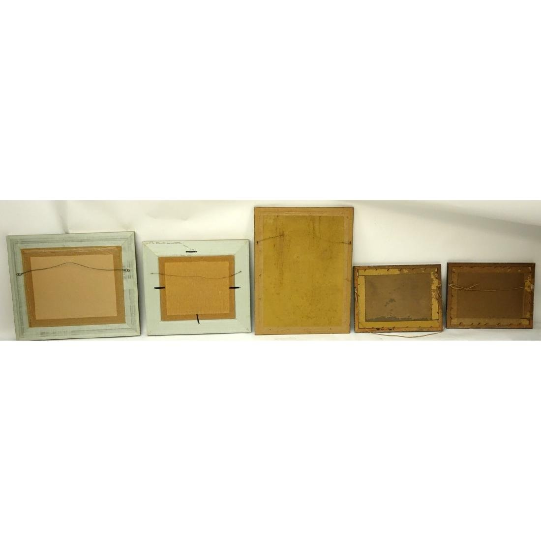 Collection Of Five (5) Framed Old Military - 5