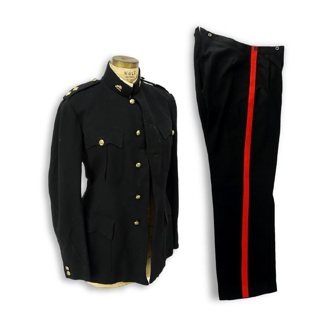 Vintage 2 Piece Military Patrol Uniform