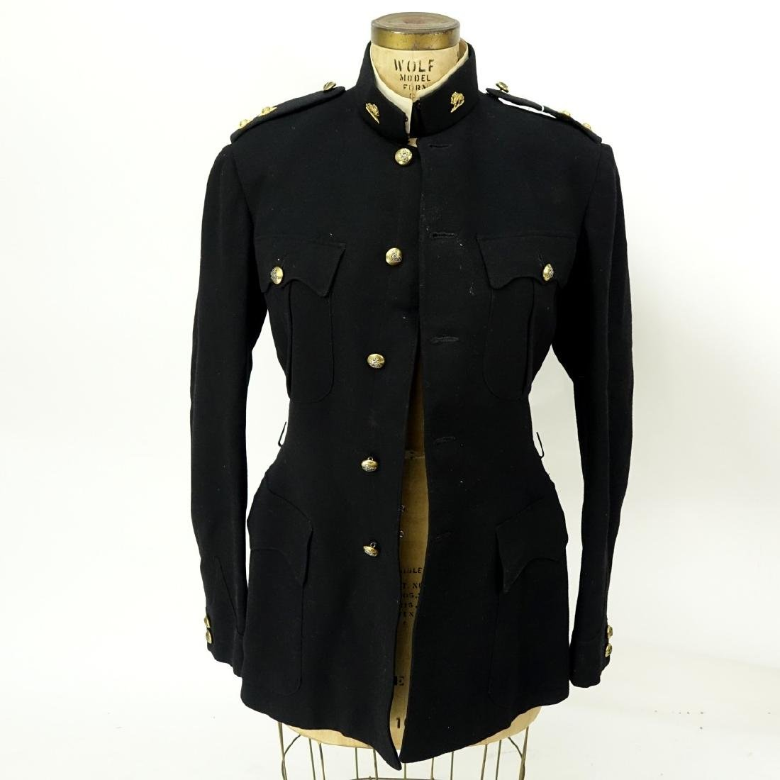 Vintage 2 Piece Military Patrol Uniform - 2
