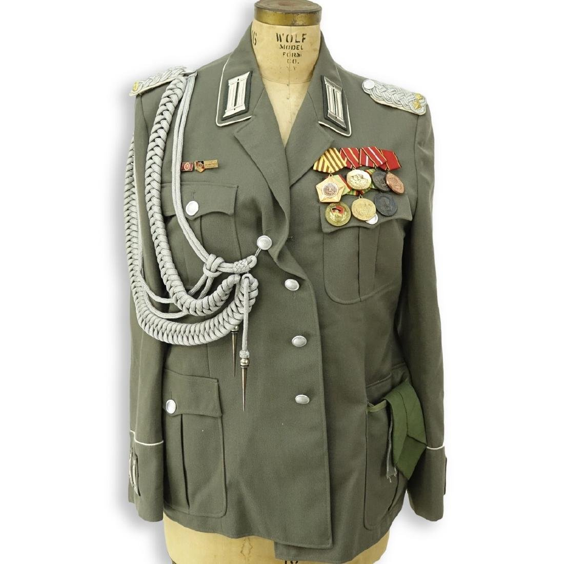 Russian Soviet Era Military Uniform Set With Metal - 2