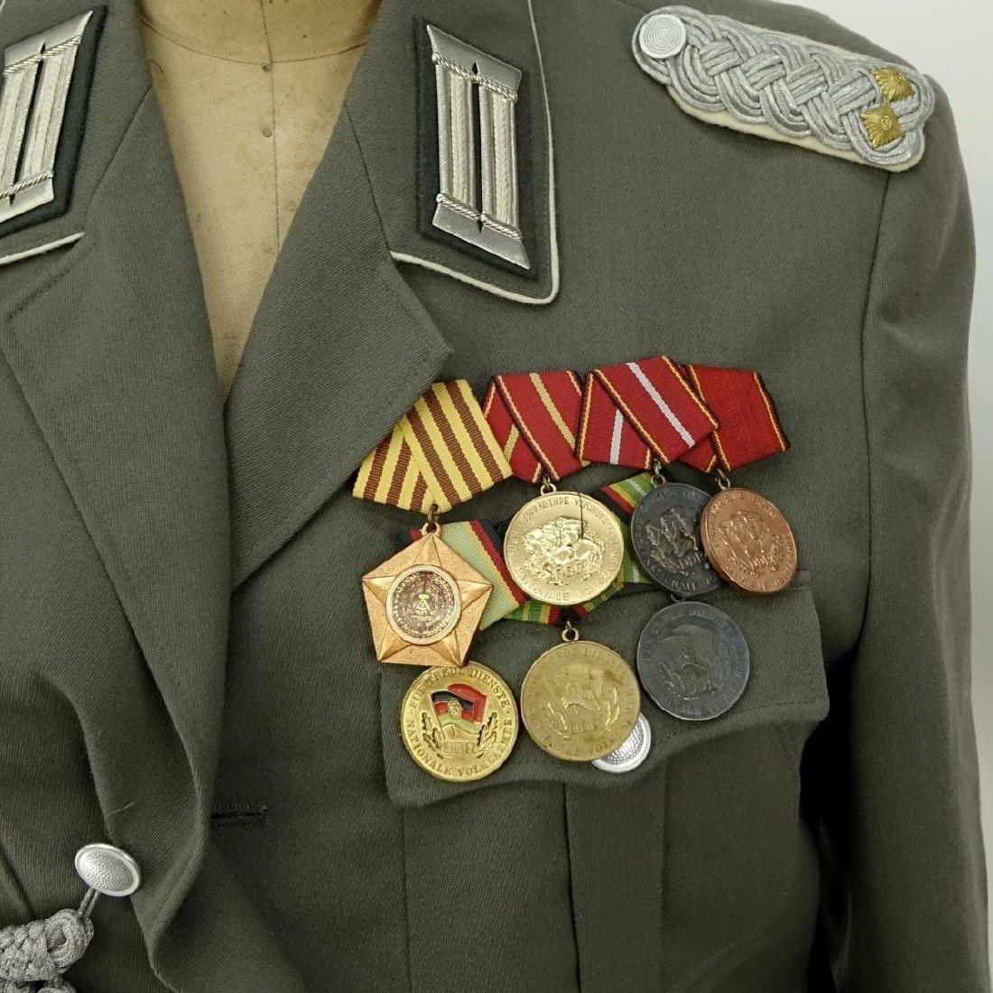 Russian Soviet Era Military Uniform Set With Metal - 3