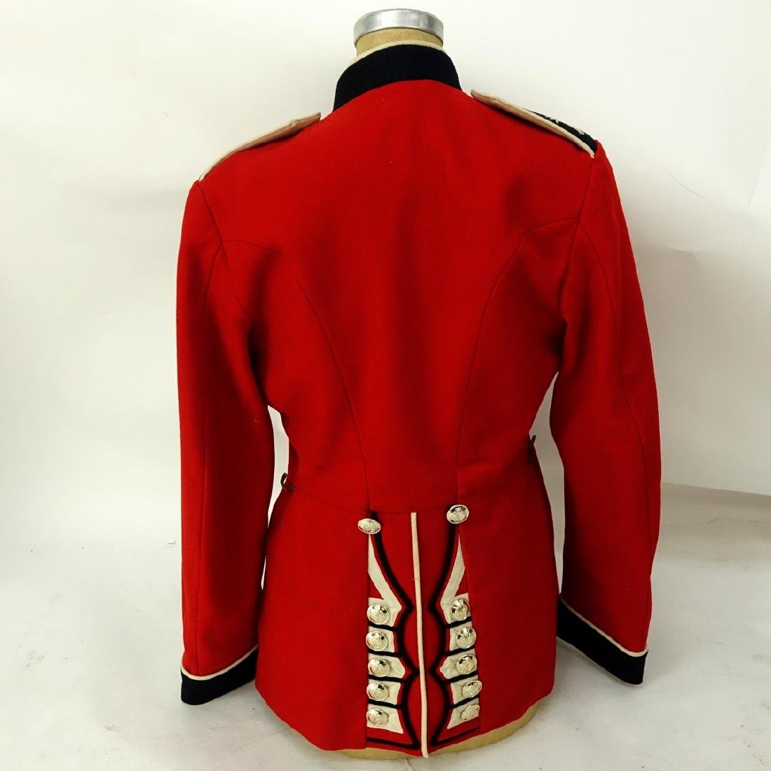 British Army Welsh Guards Red Wool Tunic Coat. - 5