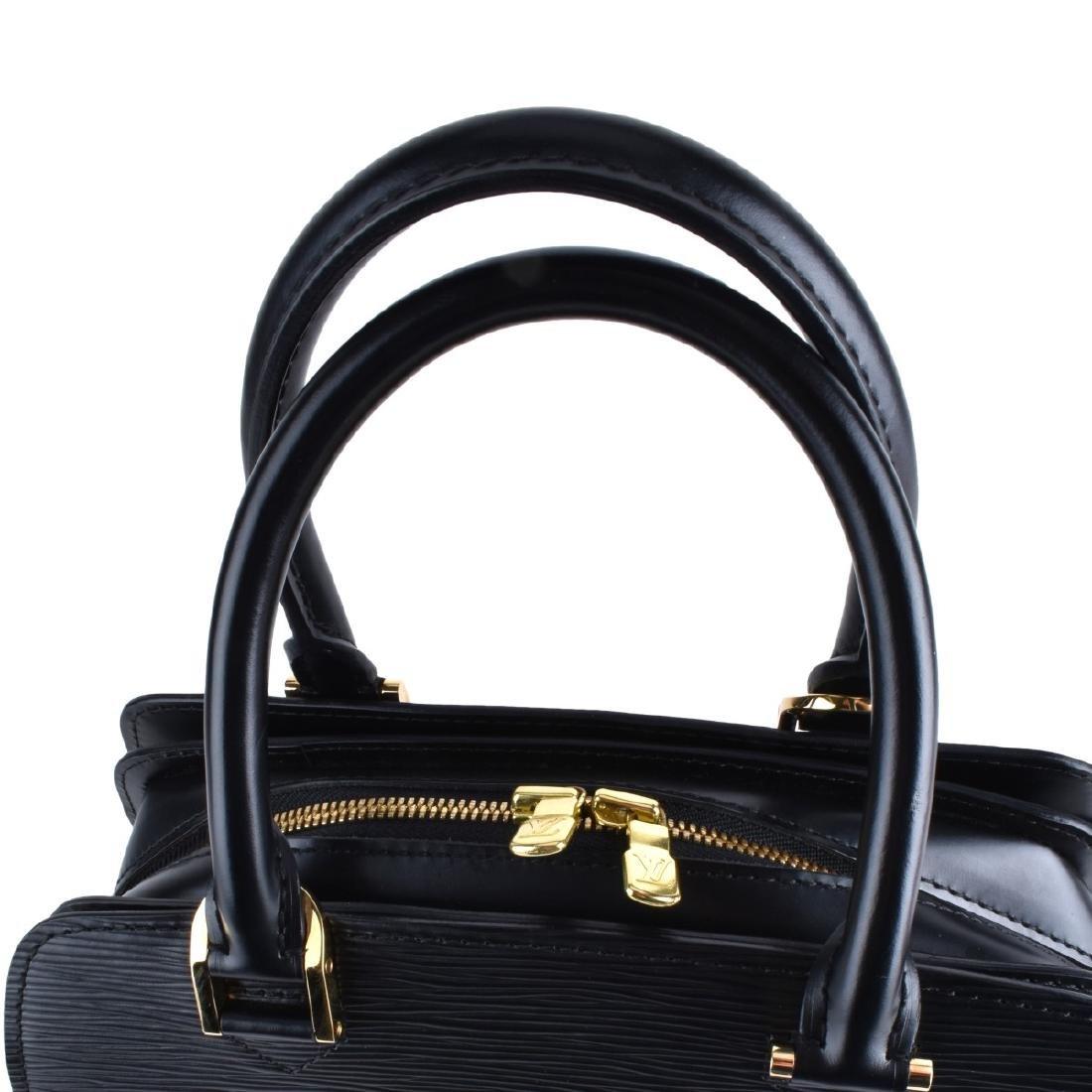 Louis Vuitton Black Epi Leather Pont-Neuf Handbag - 2