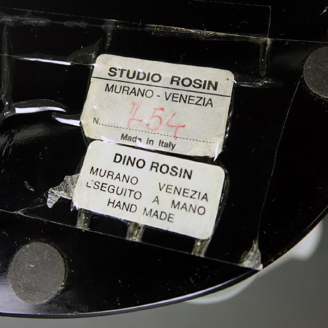 Dino Rosin (born 1948) Murano Art Glass Male Torso - 8
