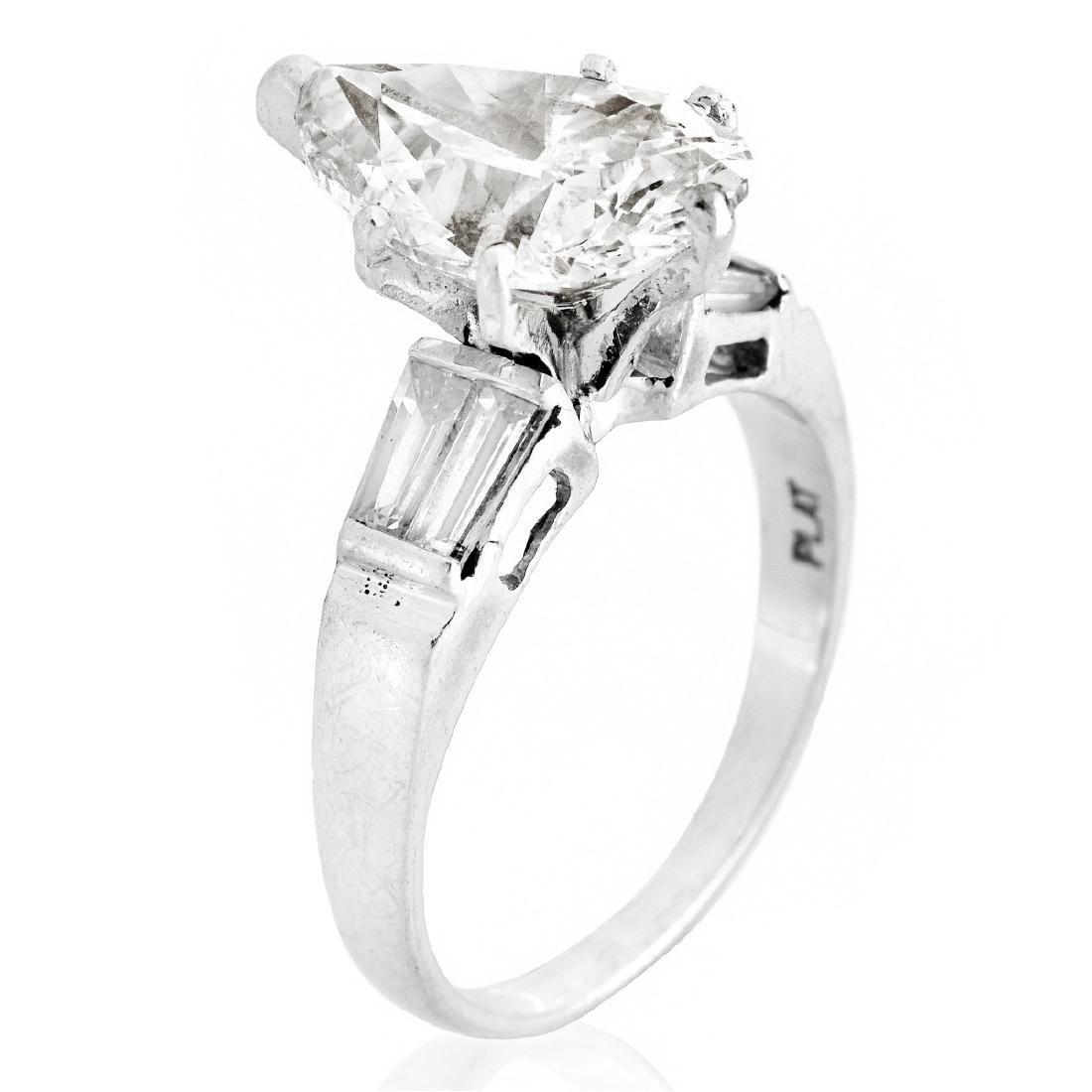 GIA Certified 3.06ct Diamond Ring