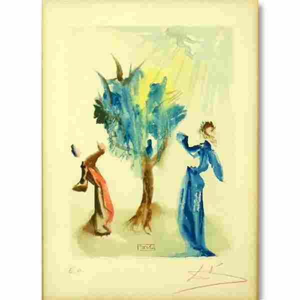 Salvador Dalí, Spanish (1904–1989) Color Litho