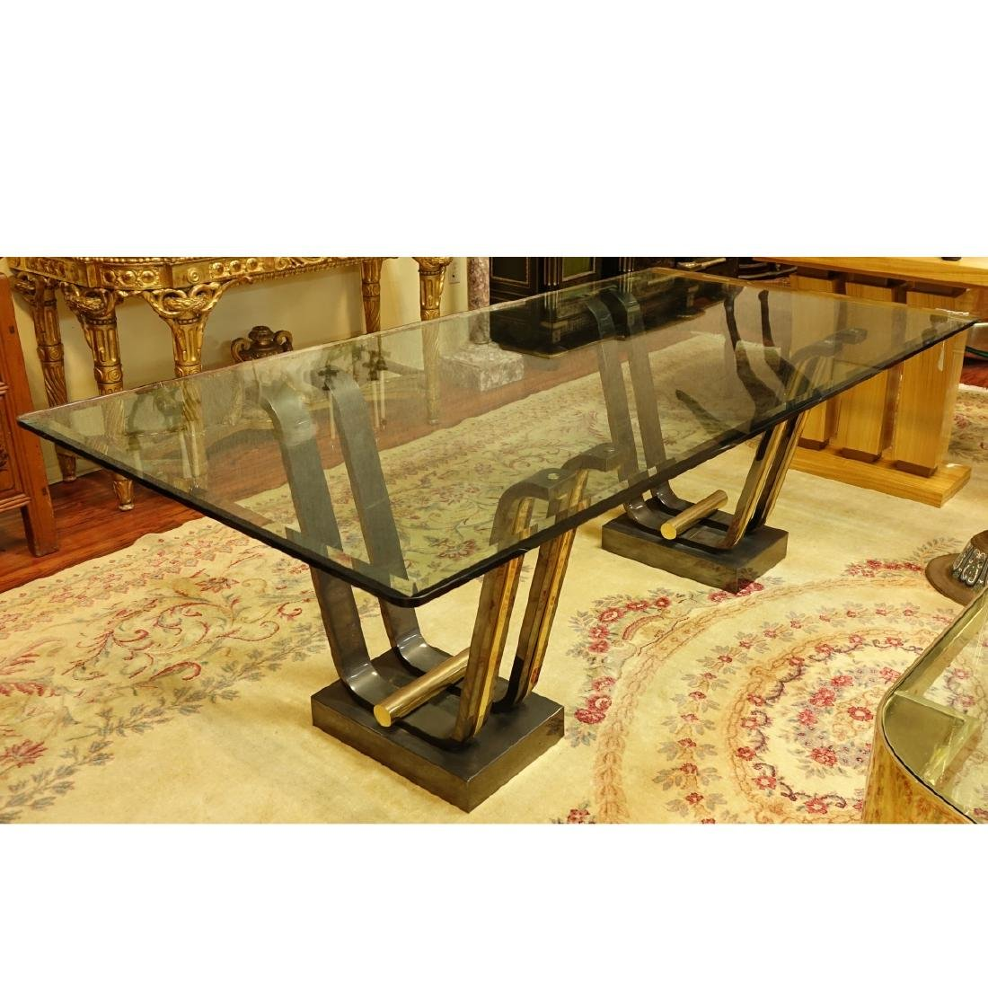 Karl Springer Tulip Dining Table