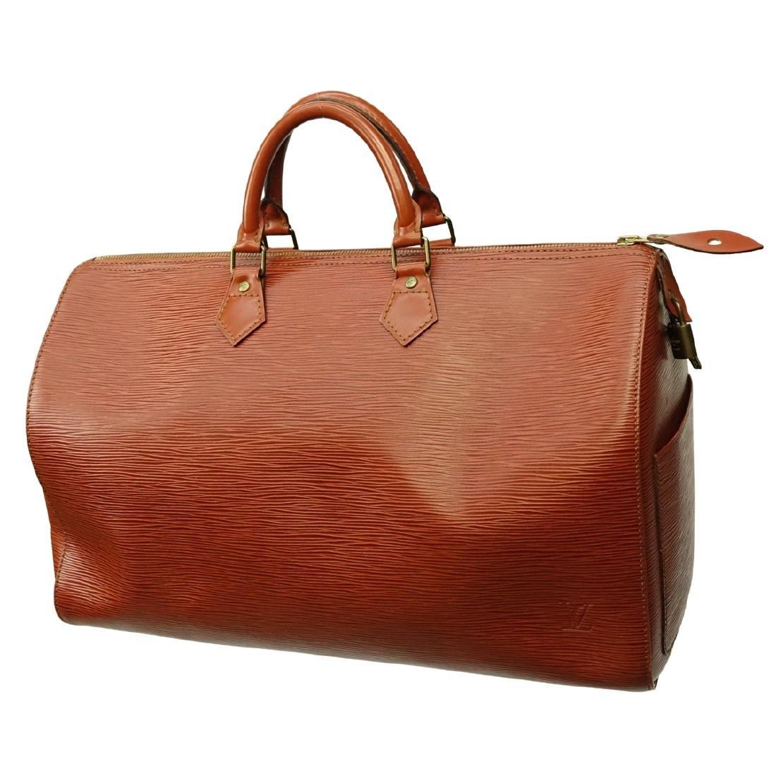 Louis Vuitton Tan Epi Leather Speedy 40 Bag