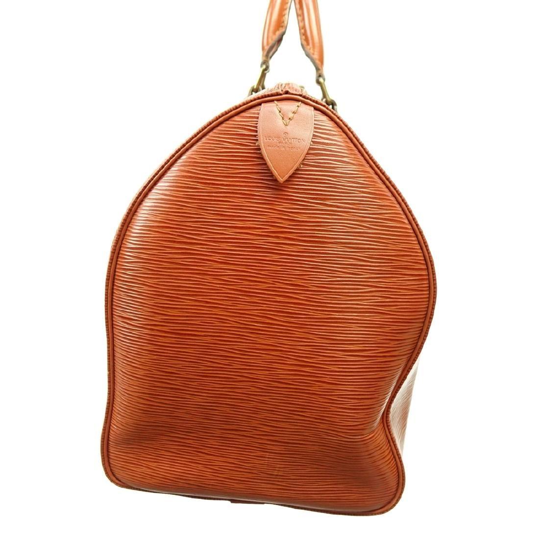 Louis Vuitton Tan Epi Leather Speedy 40 Bag - 4