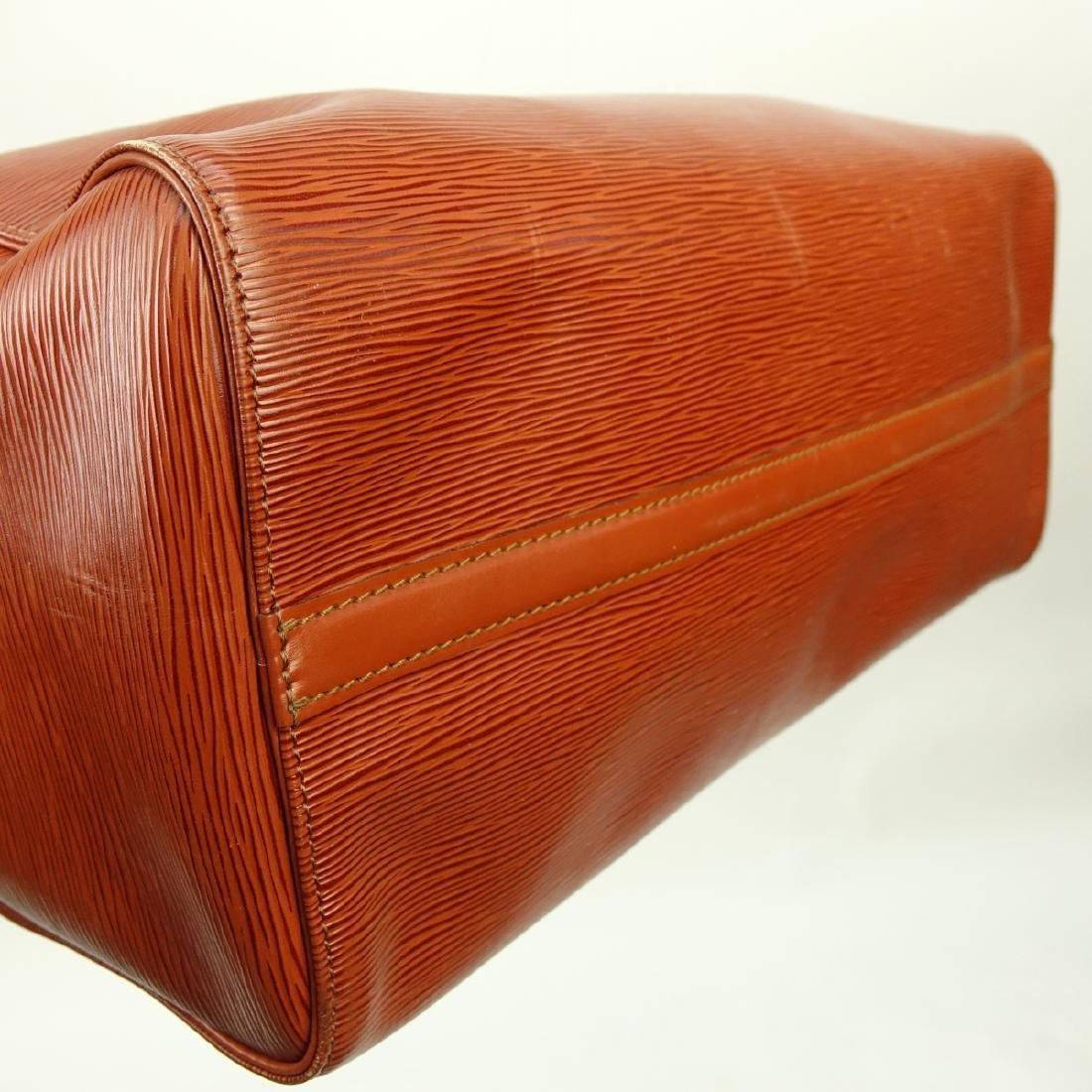 Louis Vuitton Tan Epi Leather Speedy 40 Bag - 5