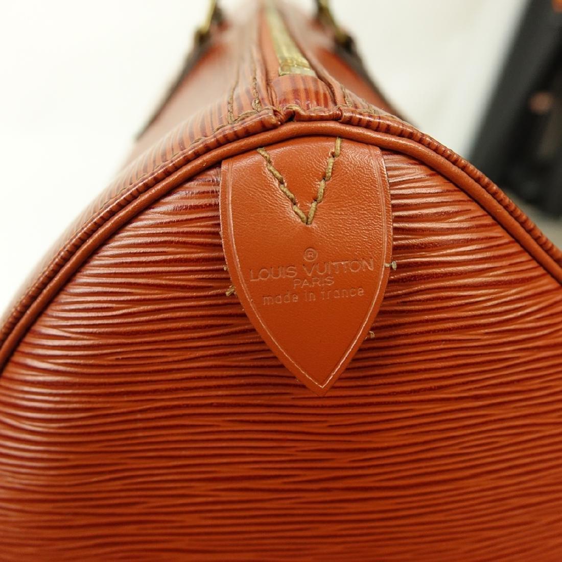 Louis Vuitton Tan Epi Leather Speedy 40 Bag - 6