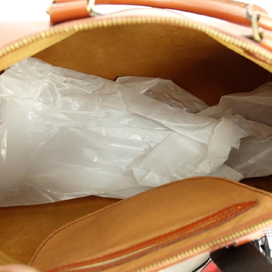 Louis Vuitton Tan Epi Leather Speedy 40 Bag - 7