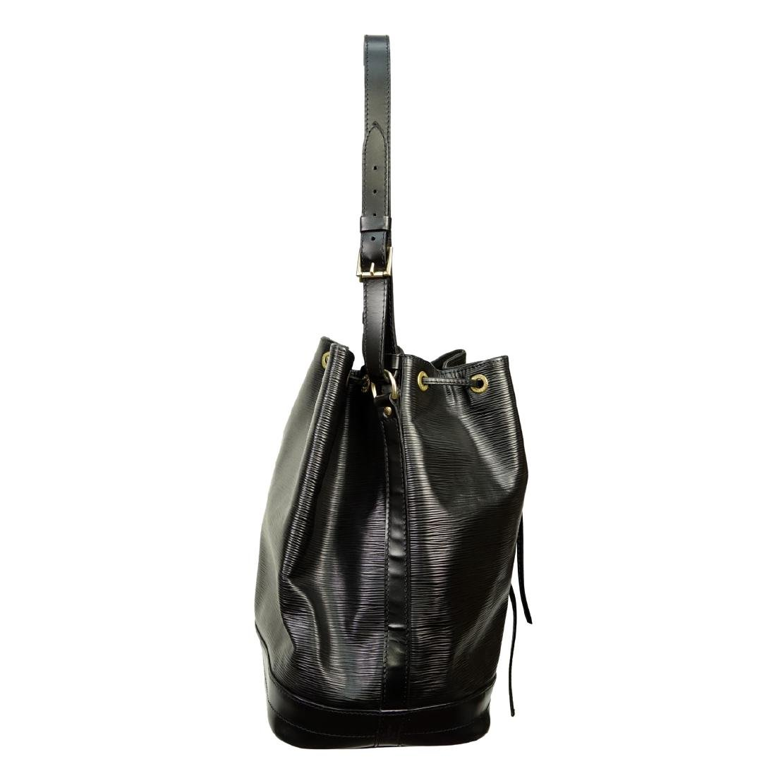 Louis Vuitton Black Epi Leather Noe GM Bag - 4