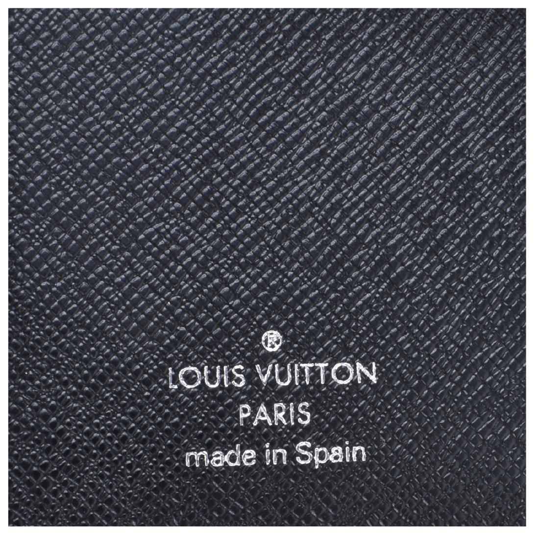 Louis Vuitton Black Epi Leather Agenda Cover PM - 3