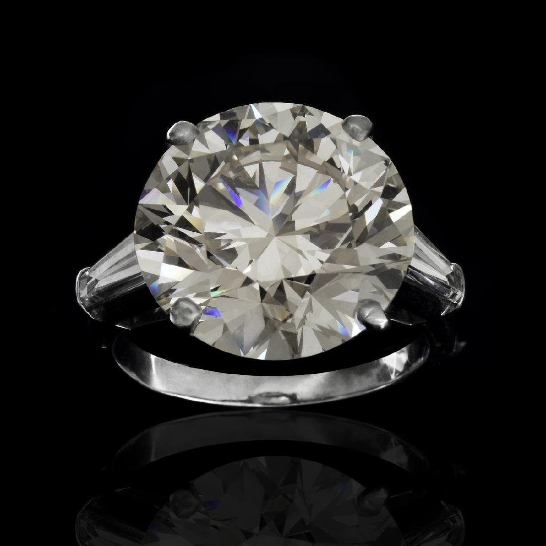 HRD Certified 16.5ct Diamond Ring