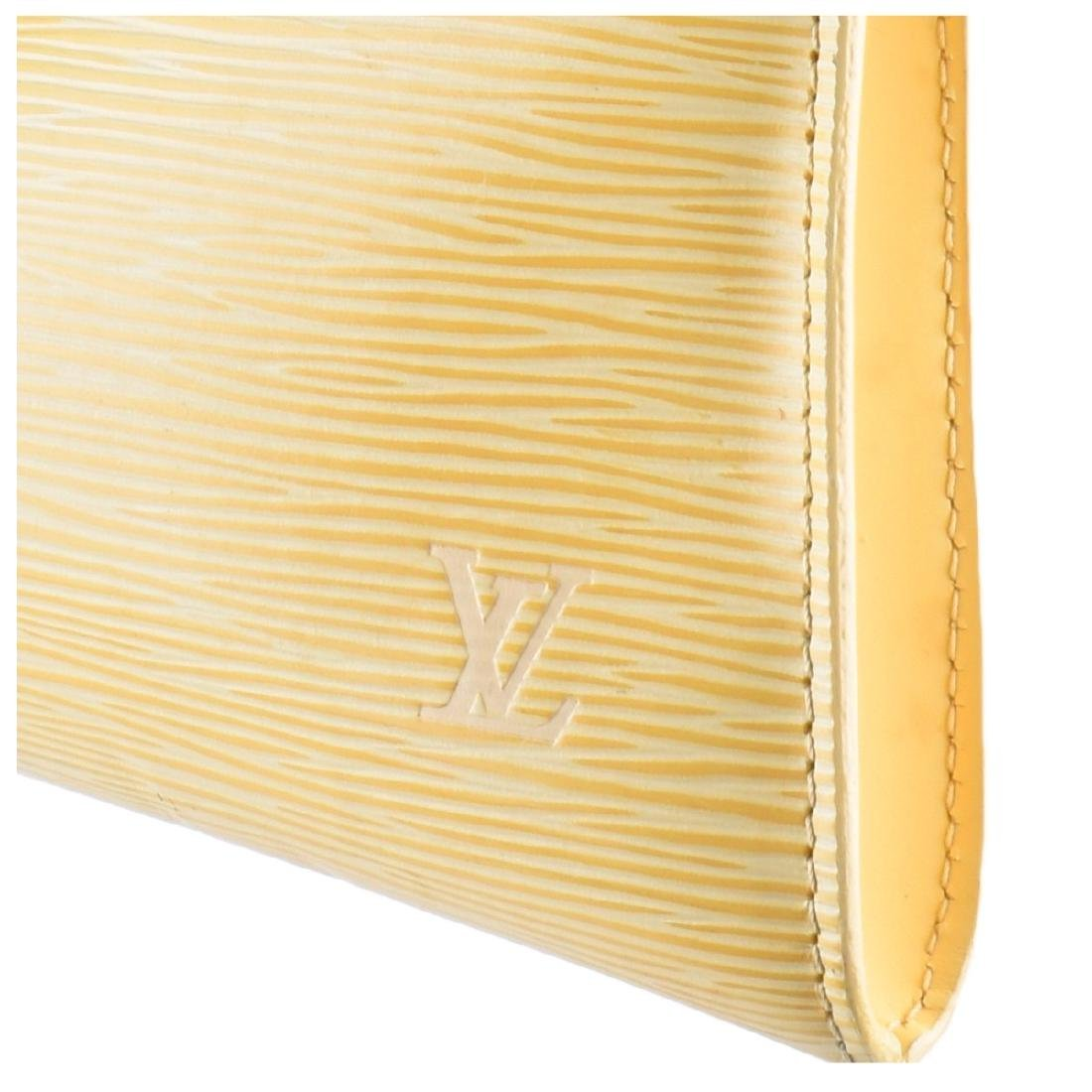 Louis Vuitton Vanilla Epi Leather Accessory Pouch - 3