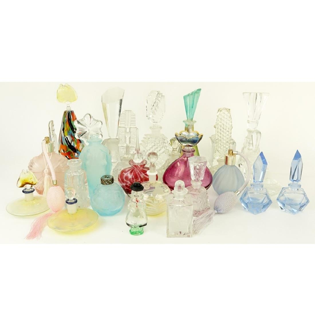 Large Collection of Vintage Perfume Bottles
