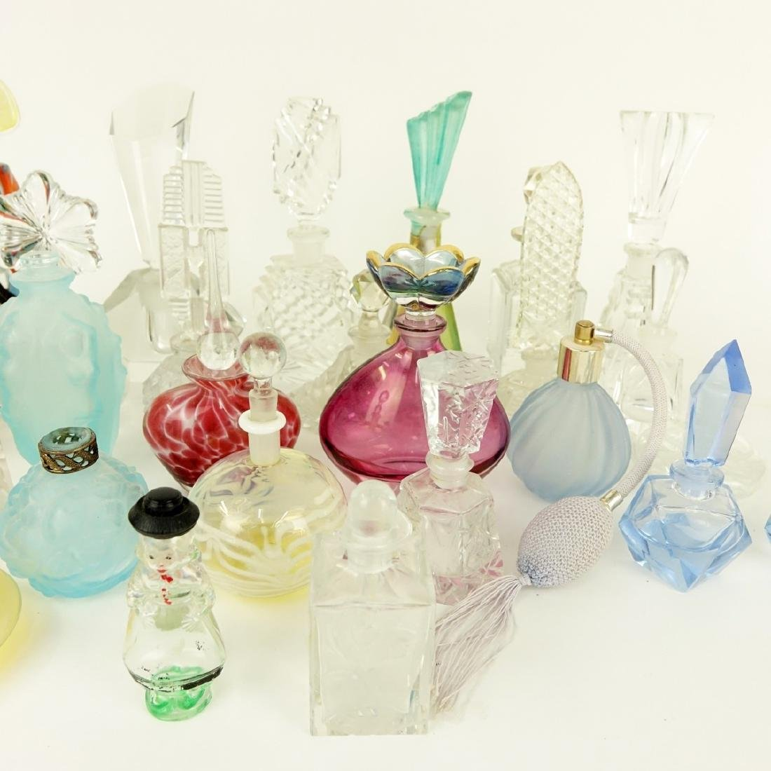 Large Collection of Vintage Perfume Bottles - 4