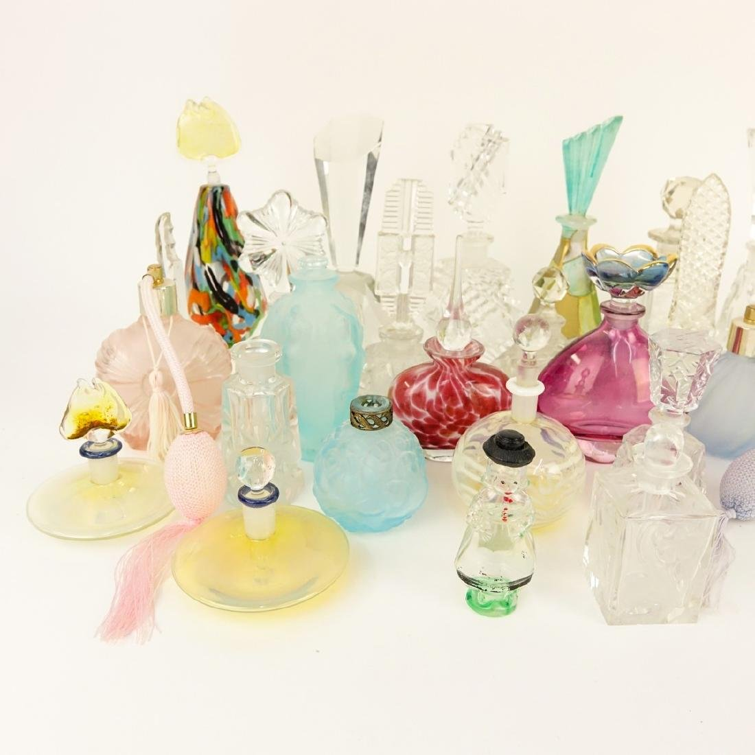 Large Collection of Vintage Perfume Bottles - 5