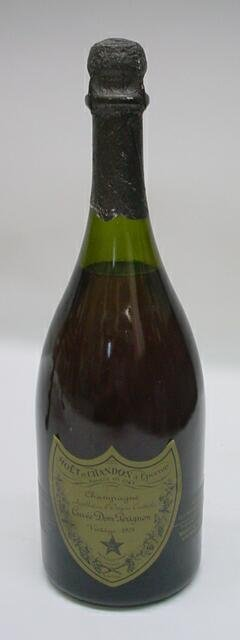 3: Dom Perignon Vintage 1975 Champagne 750 ML. Moet et