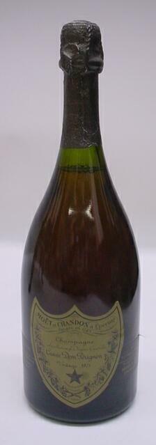 5: Dom Perignon Vintage 1975 Champagne 750 ML. Moet et