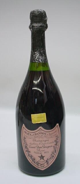 9: Dom Perignon Vintage 1975 Rose Champagne 750 ML. Moe