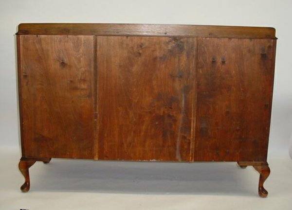 116: 20C Scotland Furniture Beith Craft Burl Walnut Sid - 10