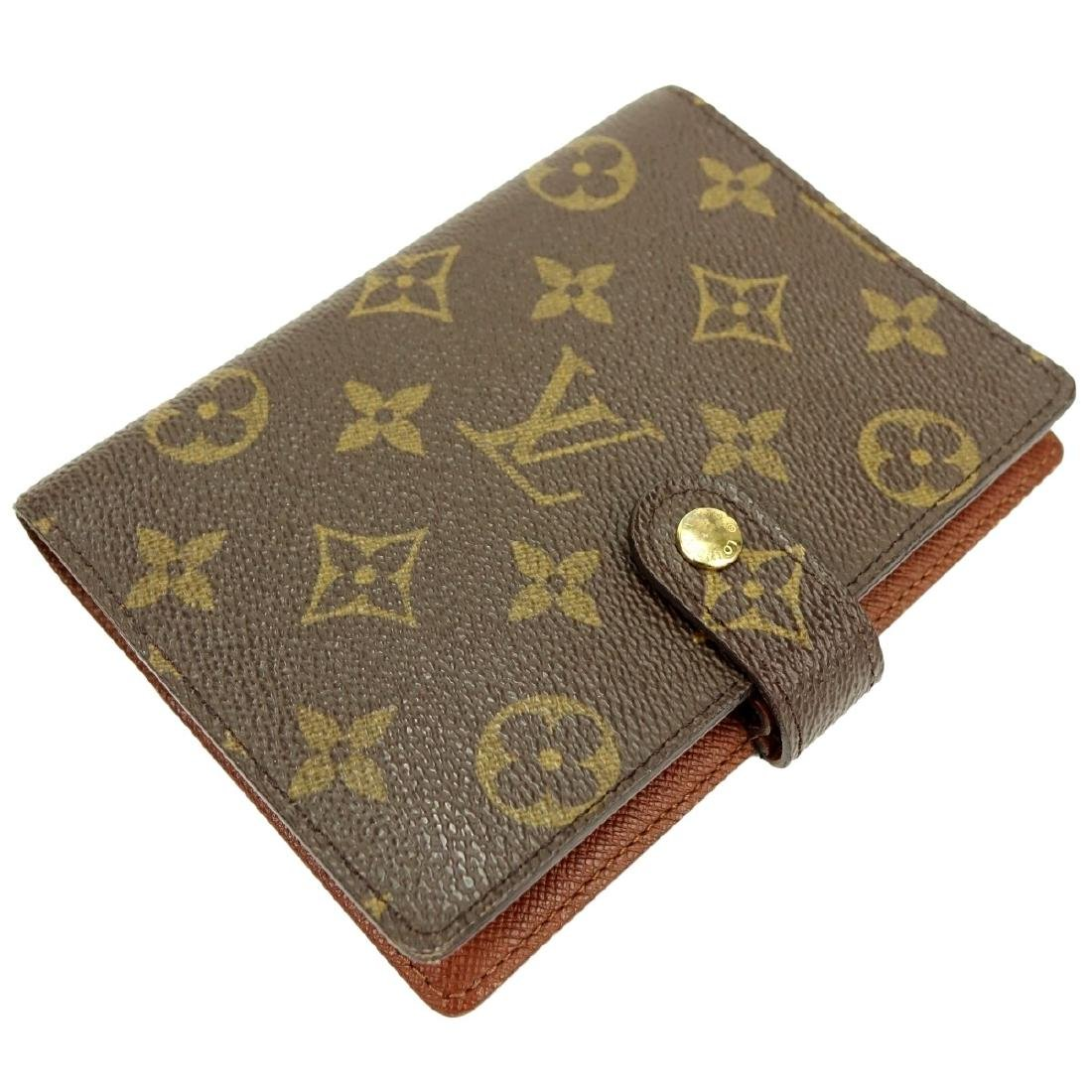 Louis Vuitton Brown Canvas Monogram Agenda Cover