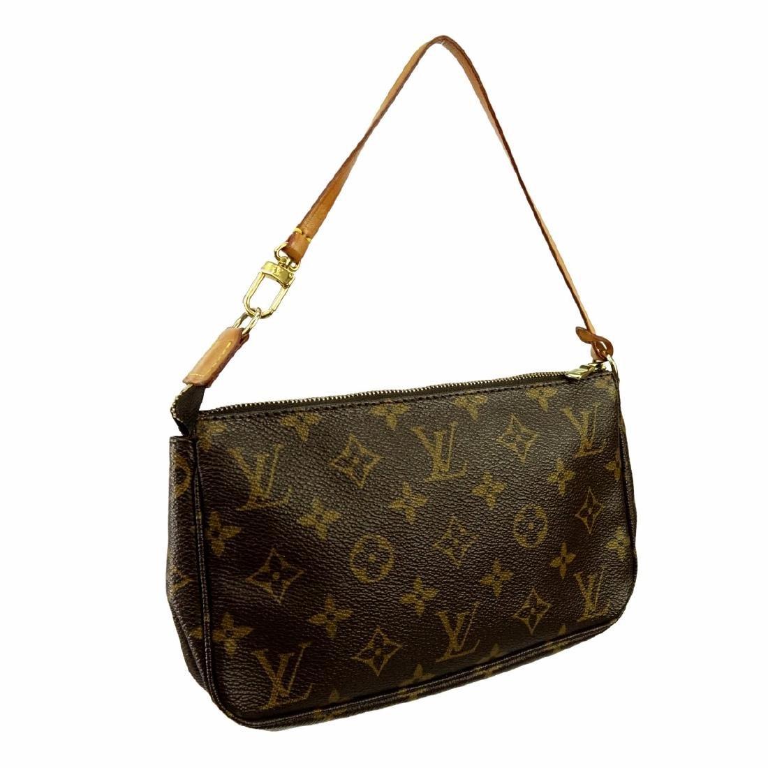 Louis Vuitton Brown Canvas Monogram Twin GM Bag