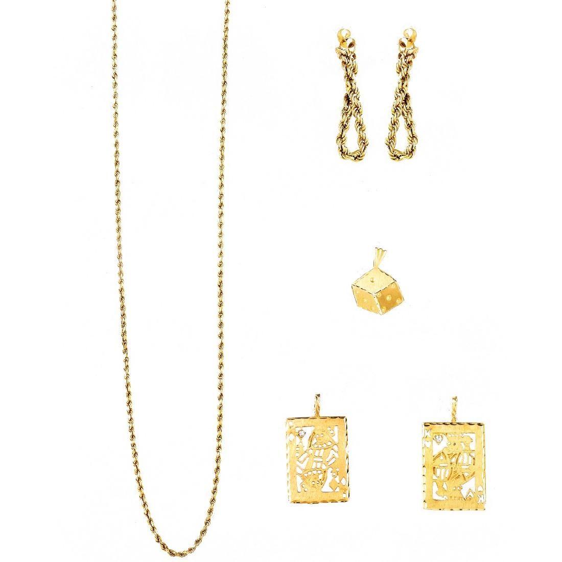 Miscellaneous 14K Gold Lot