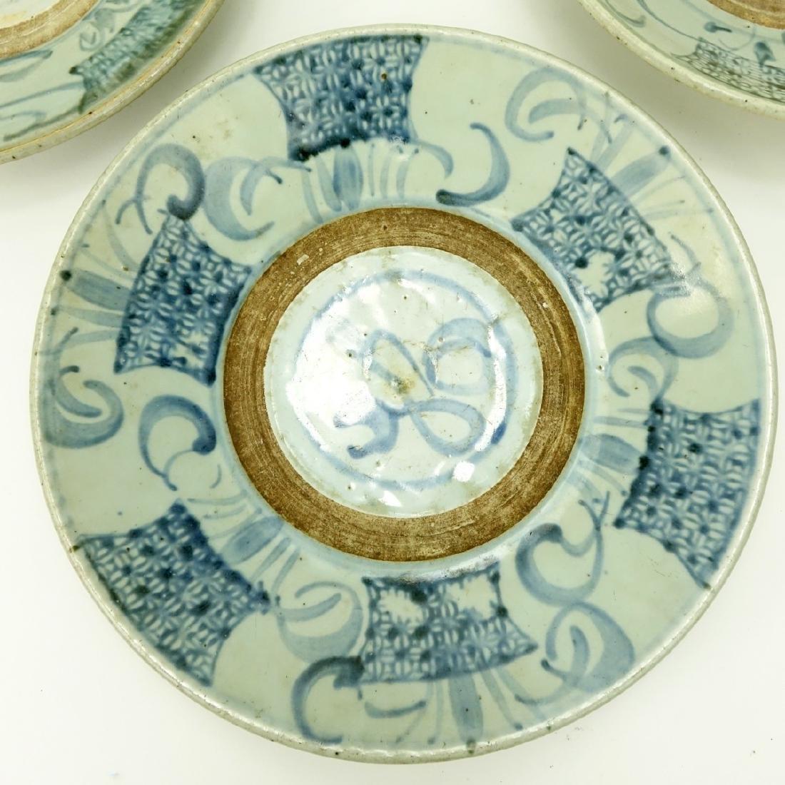 Three (3) Antique Chinese Ceramic Bowls - 3