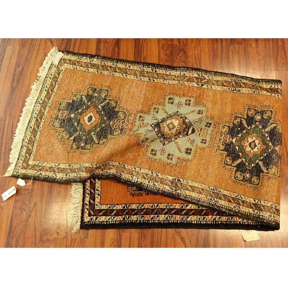 Semi Antique Persian Wool Runner - 3