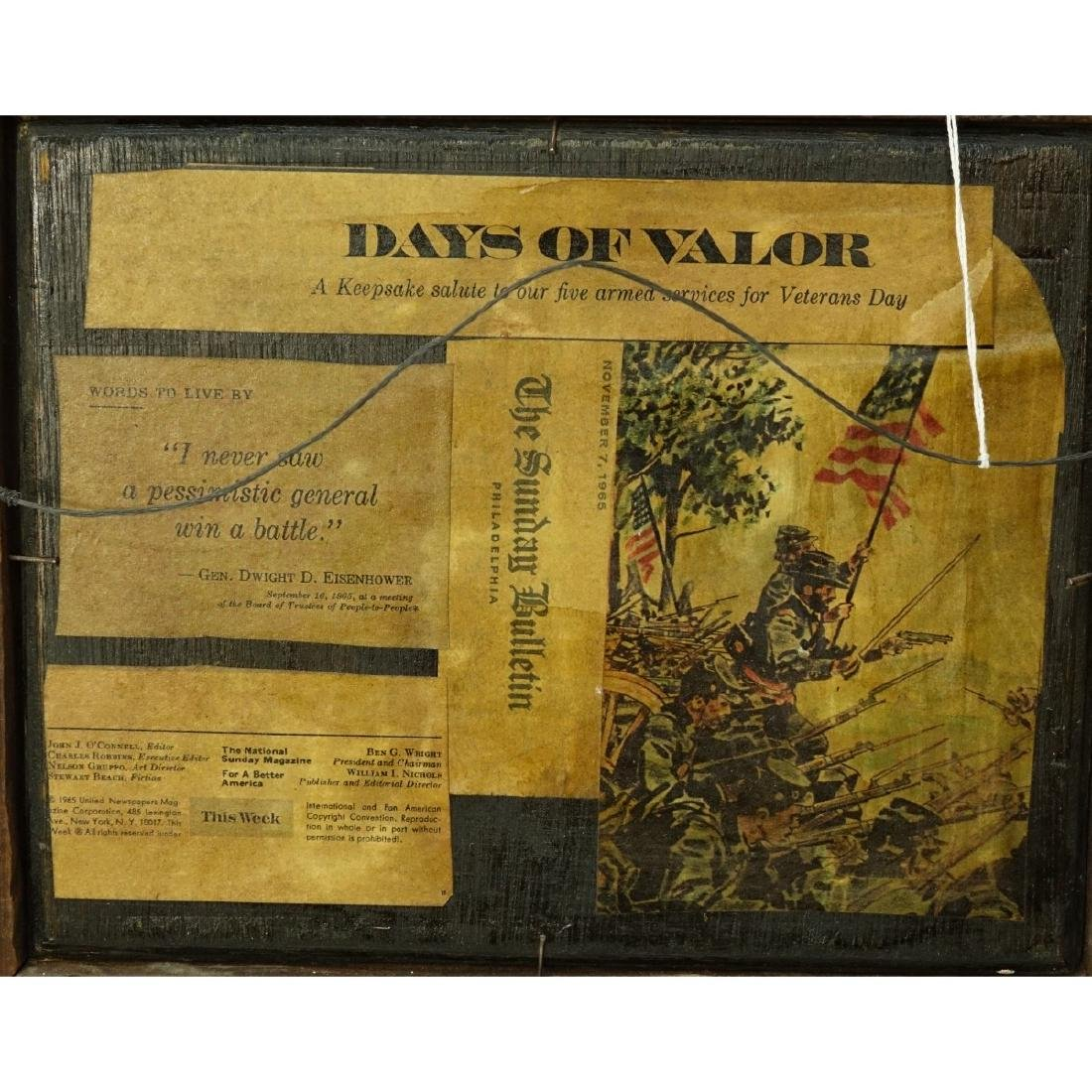 """Attributed to: Adolph Shreyer Oil/Panel """"Arab War"""" - 5"""