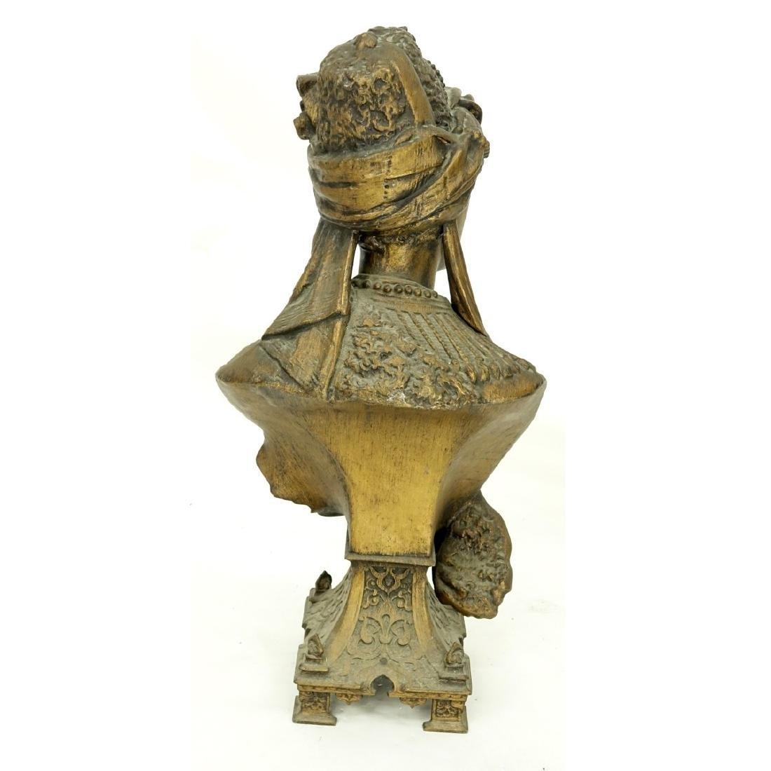 Antique Orientalist French Spelter Sculpture - 4