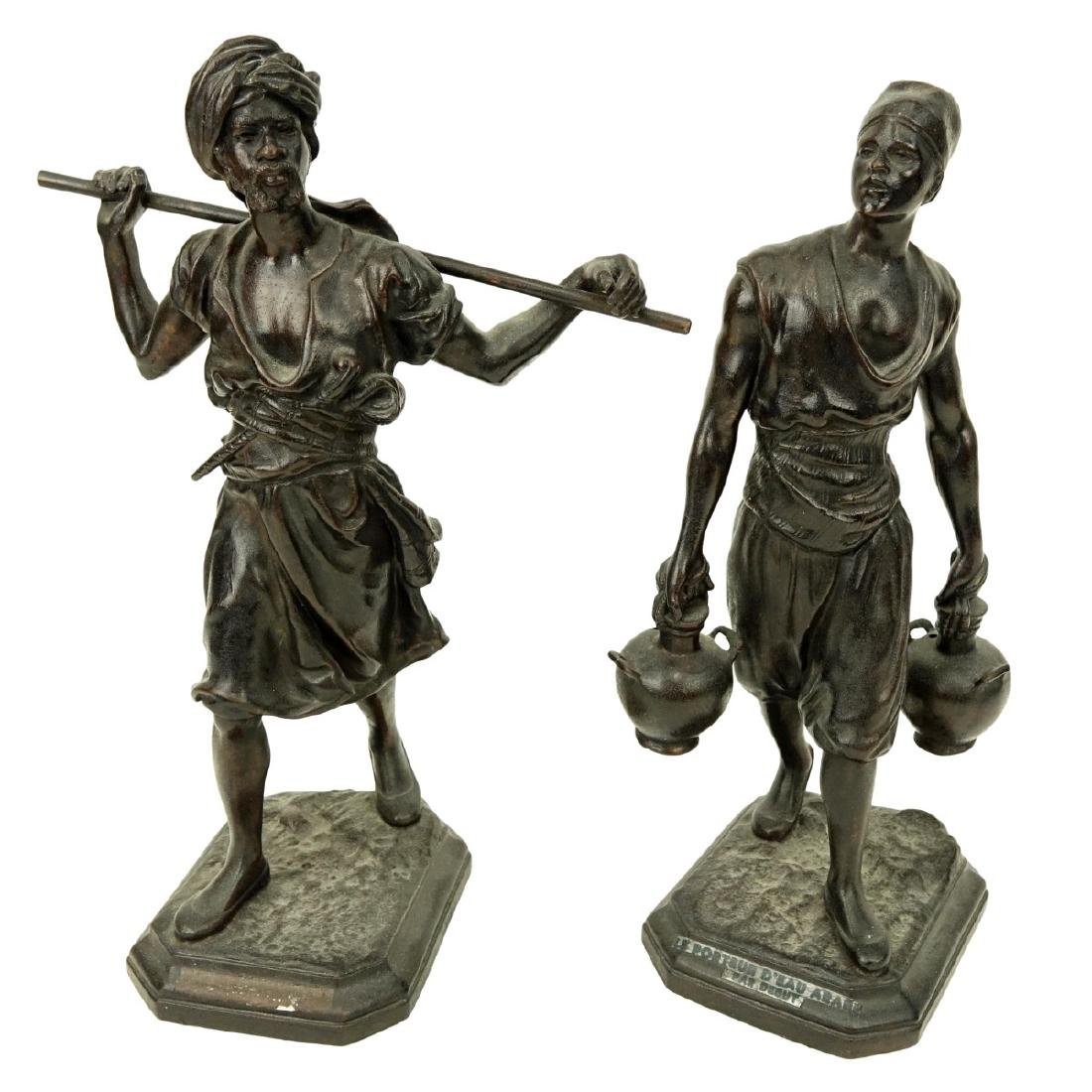 After: Emile Pinedo, French (1840 - 1916) Spelter