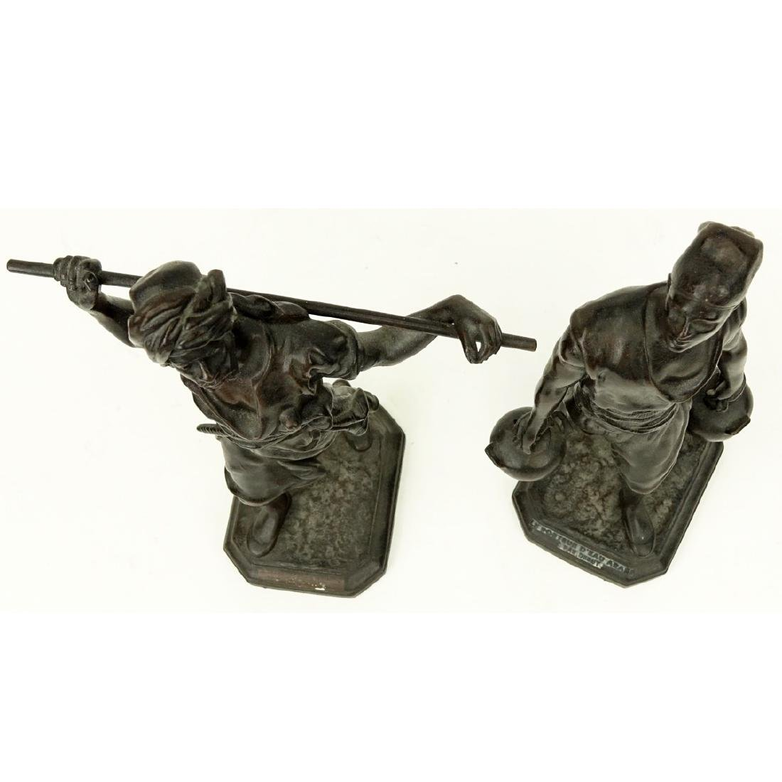 After: Emile Pinedo, French (1840 - 1916) Spelter - 2