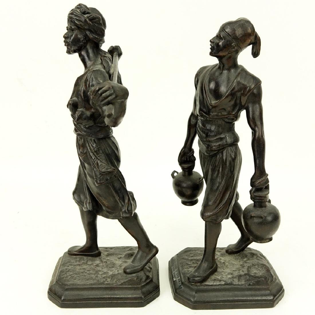 After: Emile Pinedo, French (1840 - 1916) Spelter - 3