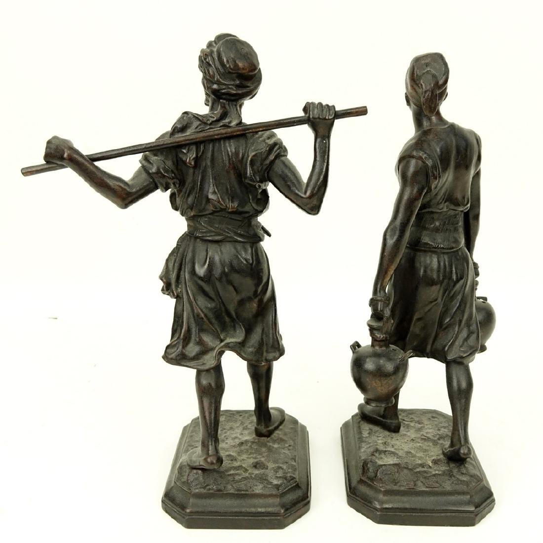 After: Emile Pinedo, French (1840 - 1916) Spelter - 4