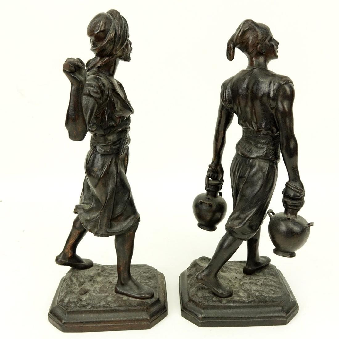 After: Emile Pinedo, French (1840 - 1916) Spelter - 5