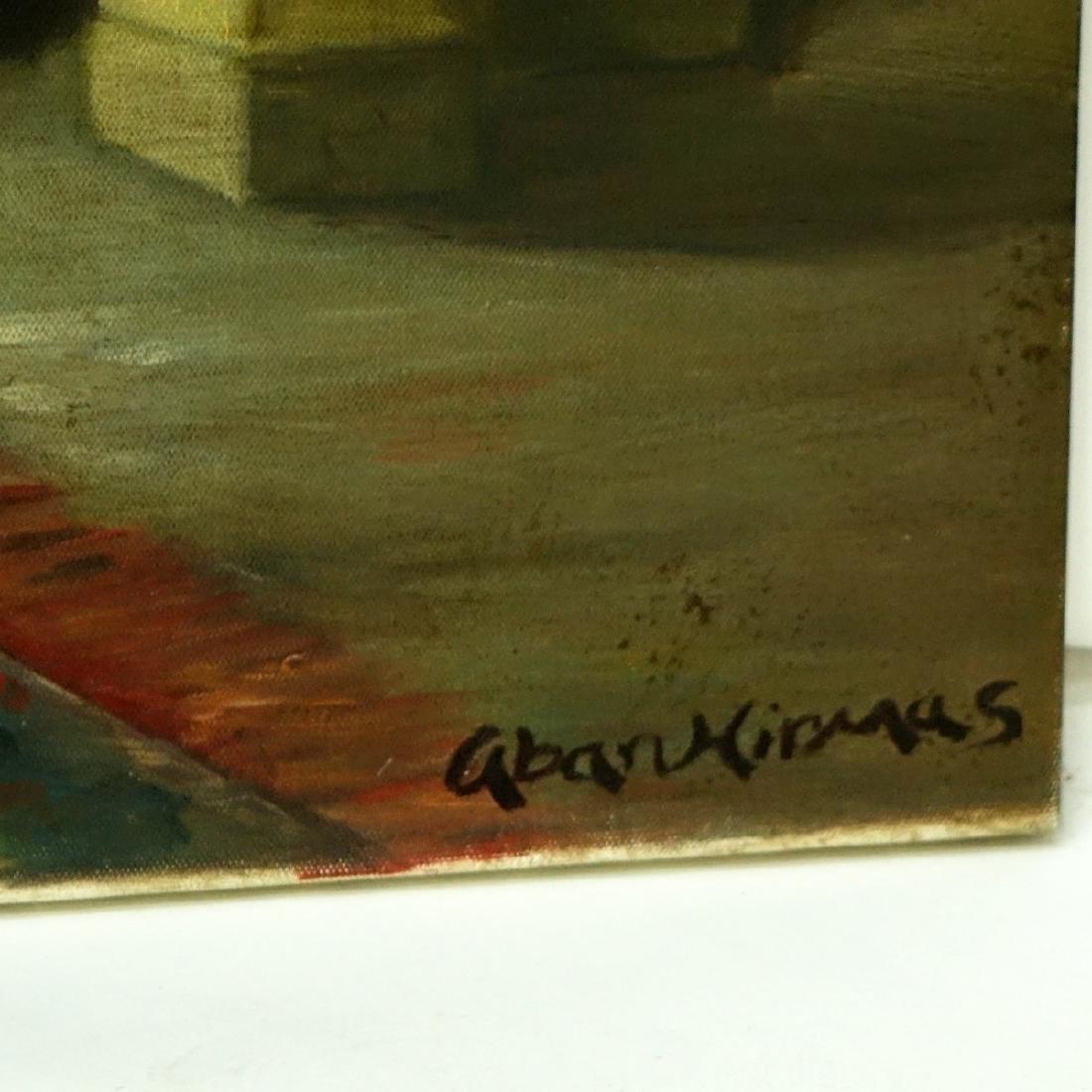 Modern Orientalist School Oil On Canvas - 2