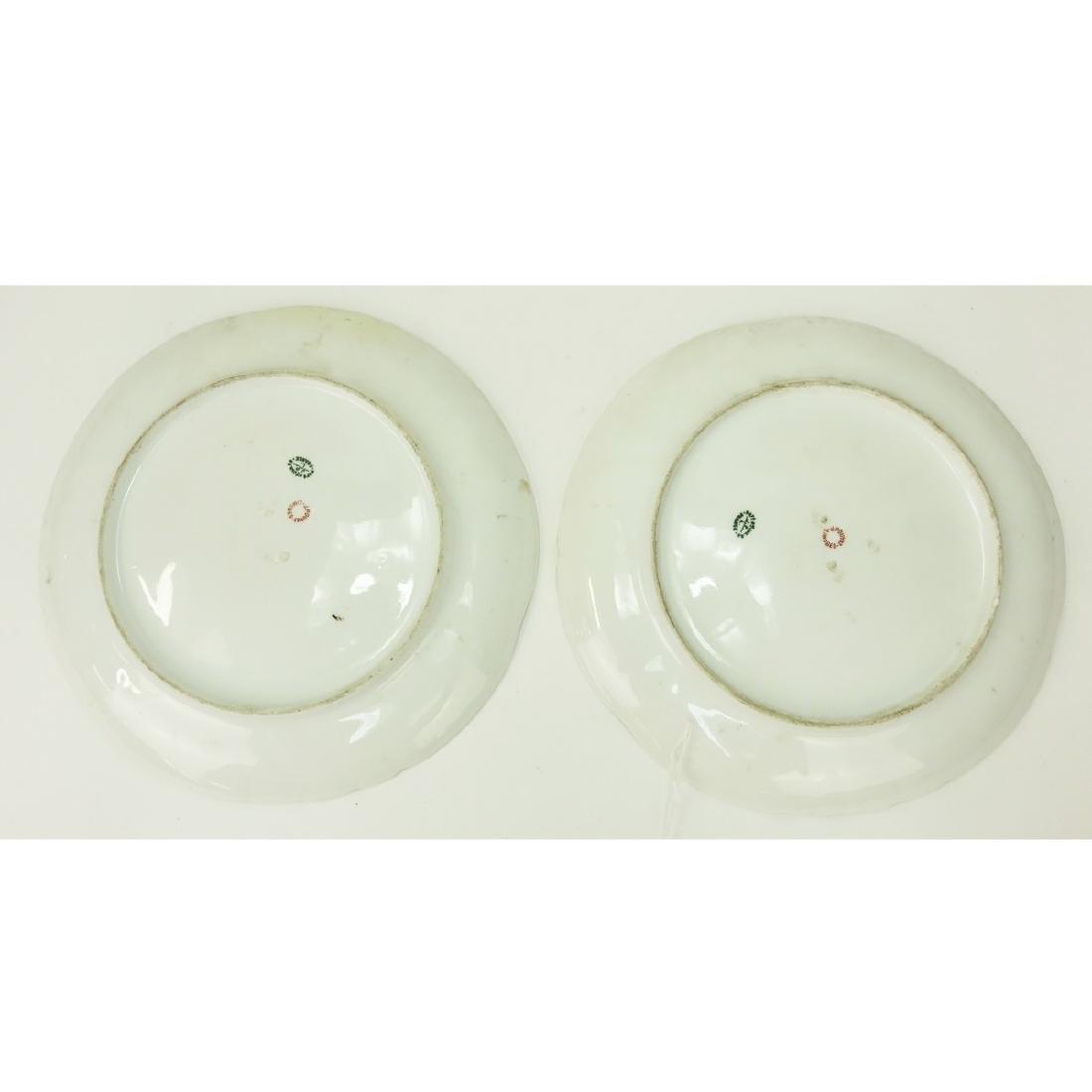 Pair Limoges Orientalist Porcelain Chargers - 4