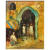 "Modern Orientalist School O/B ""Bazaar"""