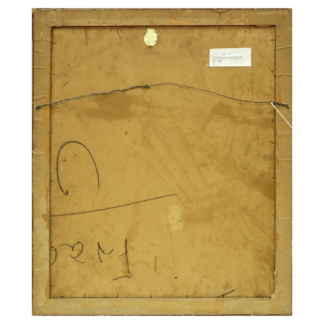"""Lucien Powell (1846 - 1930) O/B """"Market Scene"""" - 4"""